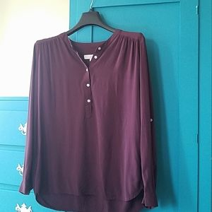 LOFT womens medium blouse